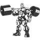 Bodybuilder with Dumbbells - GraphicRiver Item for Sale
