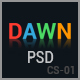 Dawn - Coming Soon PSD Template - GraphicRiver Item for Sale