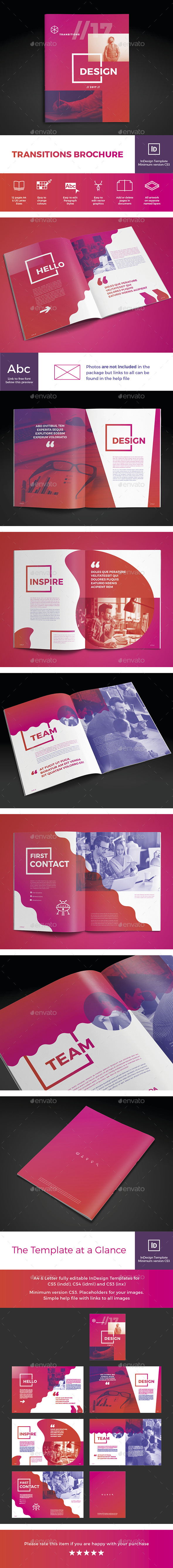 Transitions Brochure - Brochures Print Templates
