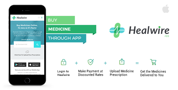 Healwire iOS - Online Medical Store - CodeCanyon Item for Sale