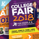 College Fair Flyer Templates - GraphicRiver Item for Sale