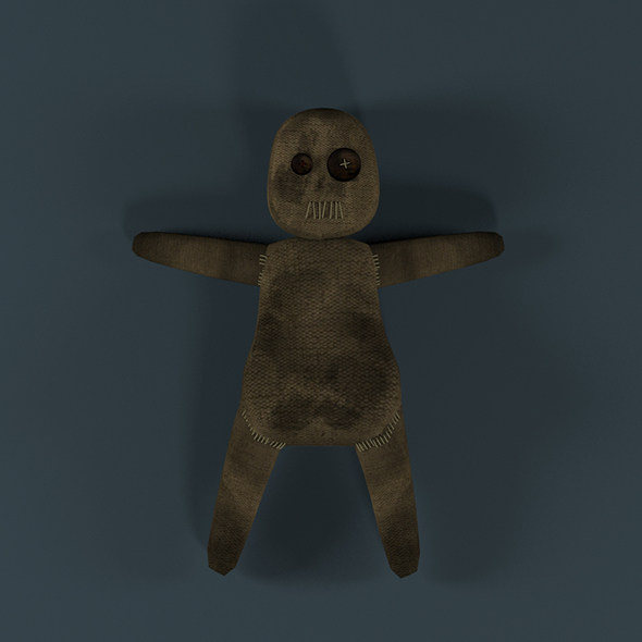 Voodoo Doll - 3DOcean Item for Sale