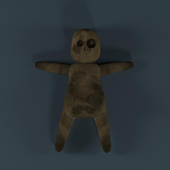 Voodoo Doll - 3DOcean Item for Sale