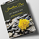 Funeral Program Brochure Template 6 - GraphicRiver Item for Sale