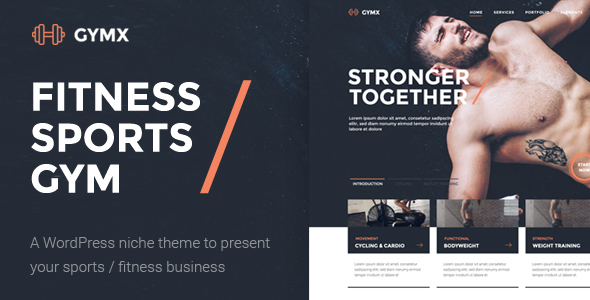 Gym X – Fitness, Gym & Sports WordPress Theme