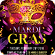 Masquerade Night Carnival Flyer