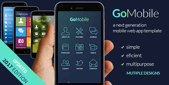 Go Mobile - Mobile Site Templates