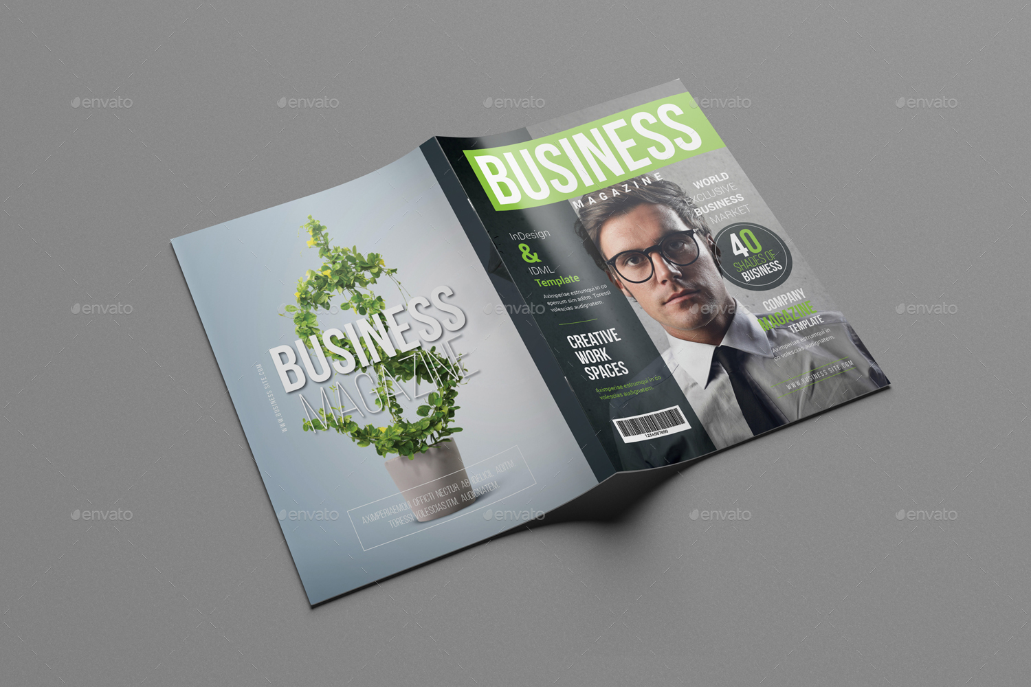 Business magazine template by designsoul14 graphicriver business magazine template magazines print templates preview image setpreview image01g accmission Image collections
