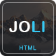 JOLI - Responsive Multi-Purpose Landing Page Template - ThemeForest Item for Sale