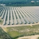 Aerial View Over Solar Panel Farm - VideoHive Item for Sale