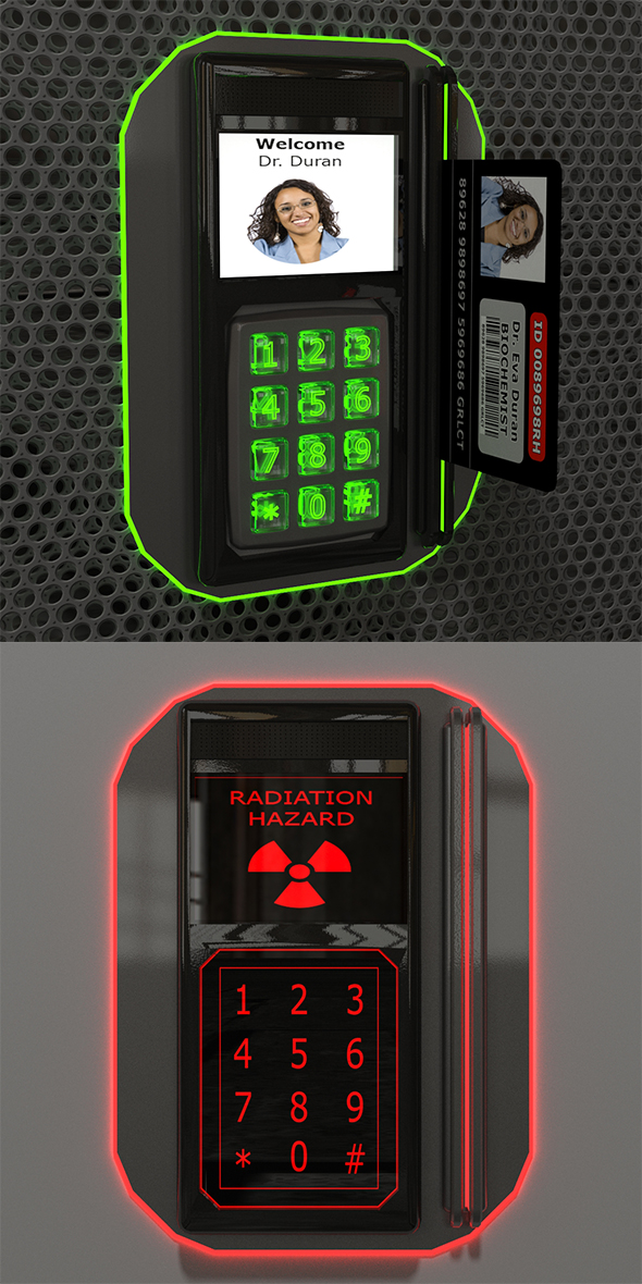 Code Lock - 3DOcean Item for Sale