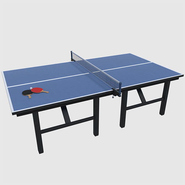 Table Tennis Set - Game Ready - 3DOcean Item for Sale