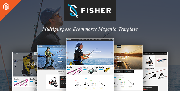 TV Fisher – MultiStore  Responsive Magento 2 Themes