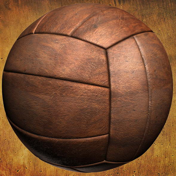 Old Volleyball - 3DOcean Item for Sale