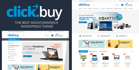 Clickbuy – WooCommerce Responsive Digital Theme