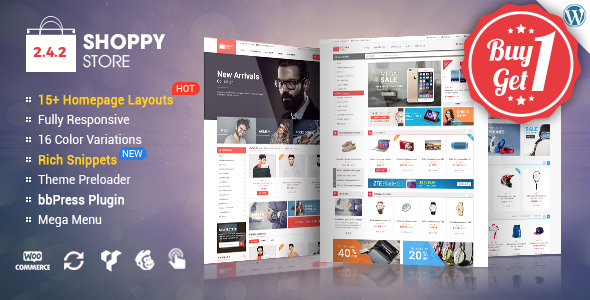 ShoppyStore – Multi-Purpose Responsive WooCommerce Theme