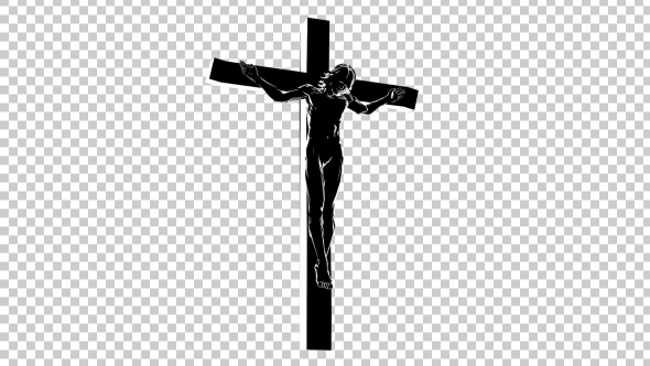 Jesus Christ On The Cross 3d Silhouette By Handrox G Videohive