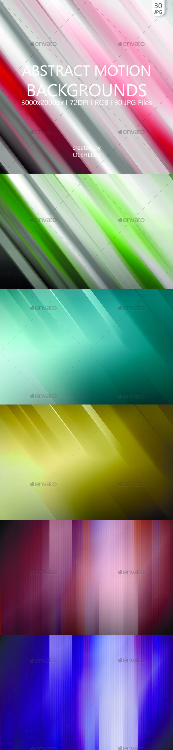 Abstract Motion 30 Backgrounds - Abstract Backgrounds