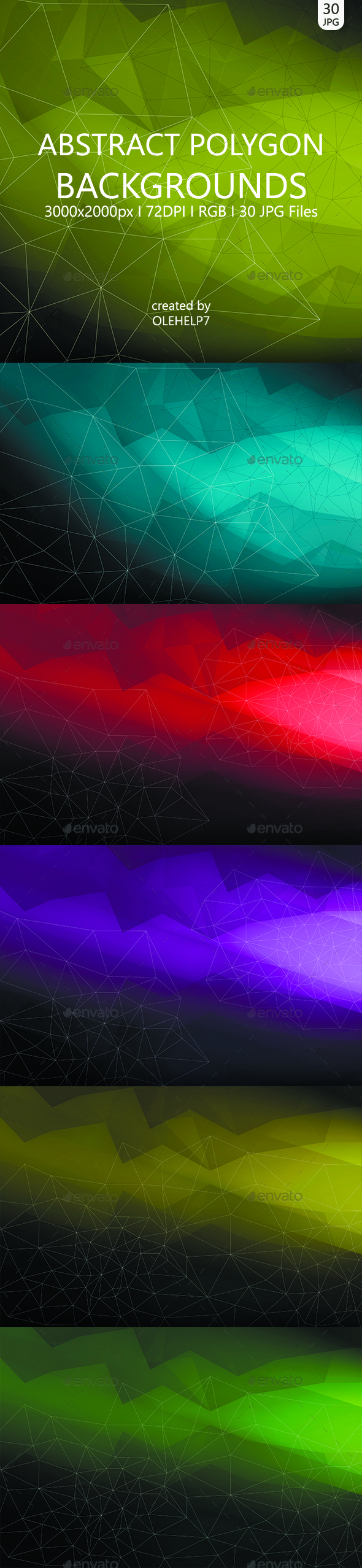 Abstract Polygon 30 Backgrounds - Abstract Backgrounds