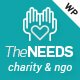 The Needs - Nonprofit, Charity, Crowdfunding WordPress Theme - ThemeForest Item for Sale