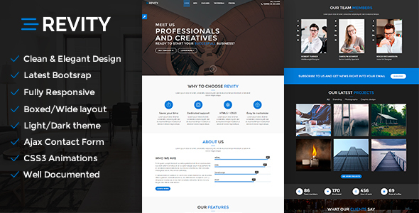 Revity - Multipurpose Responsive WordPress Theme - Portfolio Creative