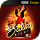 Hot Salsa Night flyer and poster - GraphicRiver Item for Sale