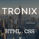 Tronix - Onepage Business Template - ThemeForest Item for Sale