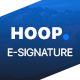 Hoop - E-Signature - GraphicRiver Item for Sale