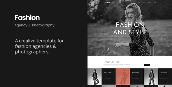 Deliver Fashion | Minimal Fashion HTML Template - Creative Site Templates