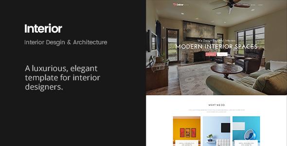 Deliver Interior | Interior Design & Architecture Template - Business Corporate