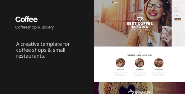 Deliver Coffee | Coffee Shop HTML Template - Restaurants & Cafes Entertainment
