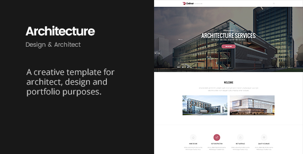 Deliver Architecture | Portfolio, Design & Architect Template - Business Corporate