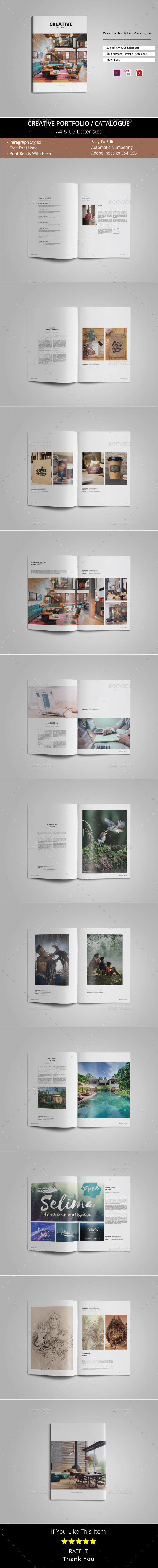 Multipurpose Portfolio / Catalogue - Portfolio Brochures