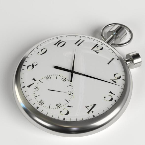 Pocketwatch (pocket watch, stopwatch) - 3DOcean Item for Sale