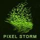 Pixel Storm Logo Reveal