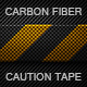 Carbon Fiber Caution Tape Texture - GraphicRiver Item for Sale