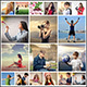 Collage Photo Display Action V1 - GraphicRiver Item for Sale