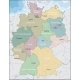 Map of Germany - GraphicRiver Item for Sale
