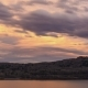 Pastel Colored Sunset Clouds Over Lake - VideoHive Item for Sale
