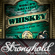 Vintage Whiskey Flyer Template - GraphicRiver Item for Sale