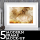 5 Modern Frame Mock-up - GraphicRiver Item for Sale