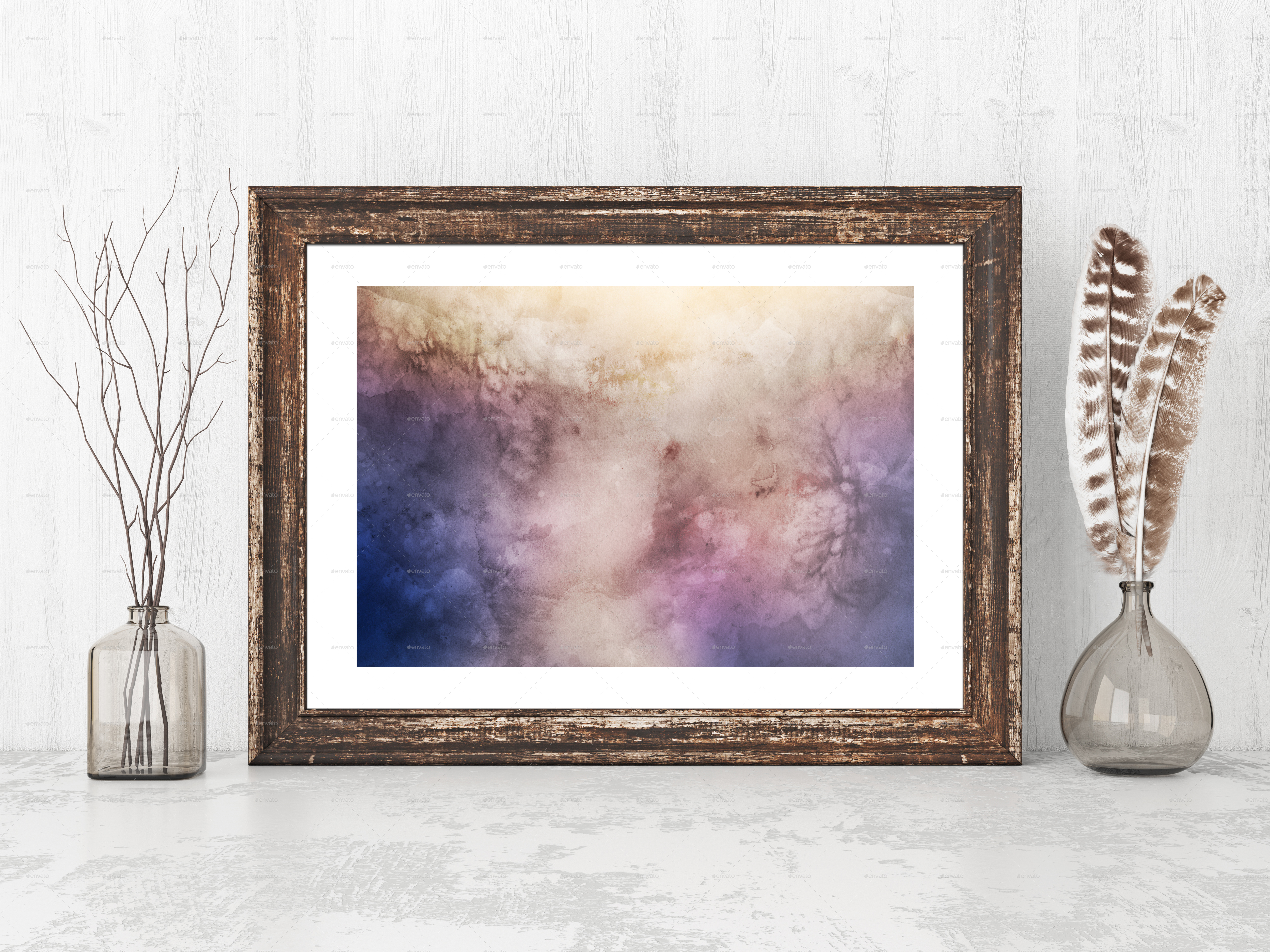 modern frame mockup by elmarjani  graphicriver - image previewimage preview