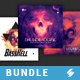 Hardcore Vibes - CD Cover Artwork Templates Bundle - GraphicRiver Item for Sale