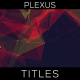 Plexus Abstract Titles - VideoHive Item for Sale