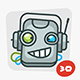 Robot Mascot Pack - GraphicRiver Item for Sale