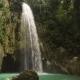 Beautiful Tropical Waterfall. Philippines Cebu Island