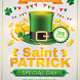 Saint Patrick Flyer Template - GraphicRiver Item for Sale