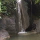 Beautiful Tropical Waterfall. Philippines Cebu Island.