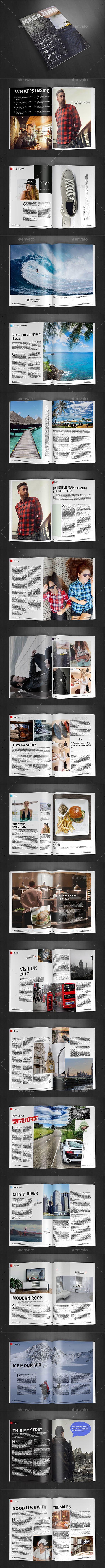 A4 Magazine Template Vol.24 - Magazines Print Templates