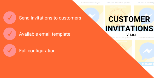 Magento 2 Customer Invitations - CodeCanyon Item for Sale